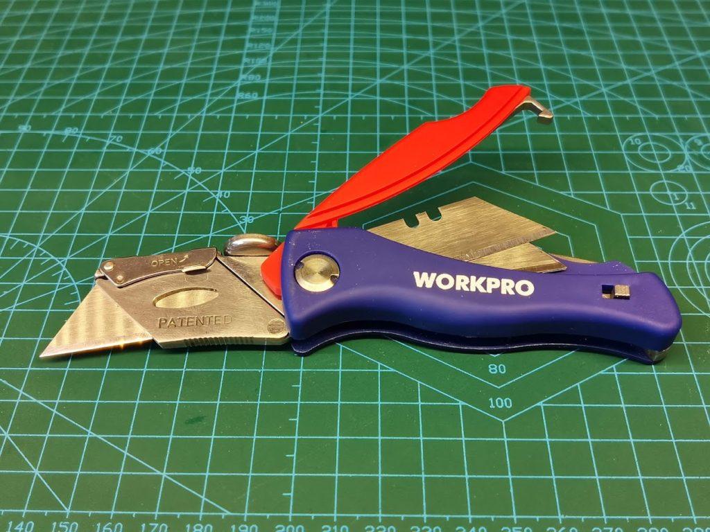 Складной нож WORKPRO