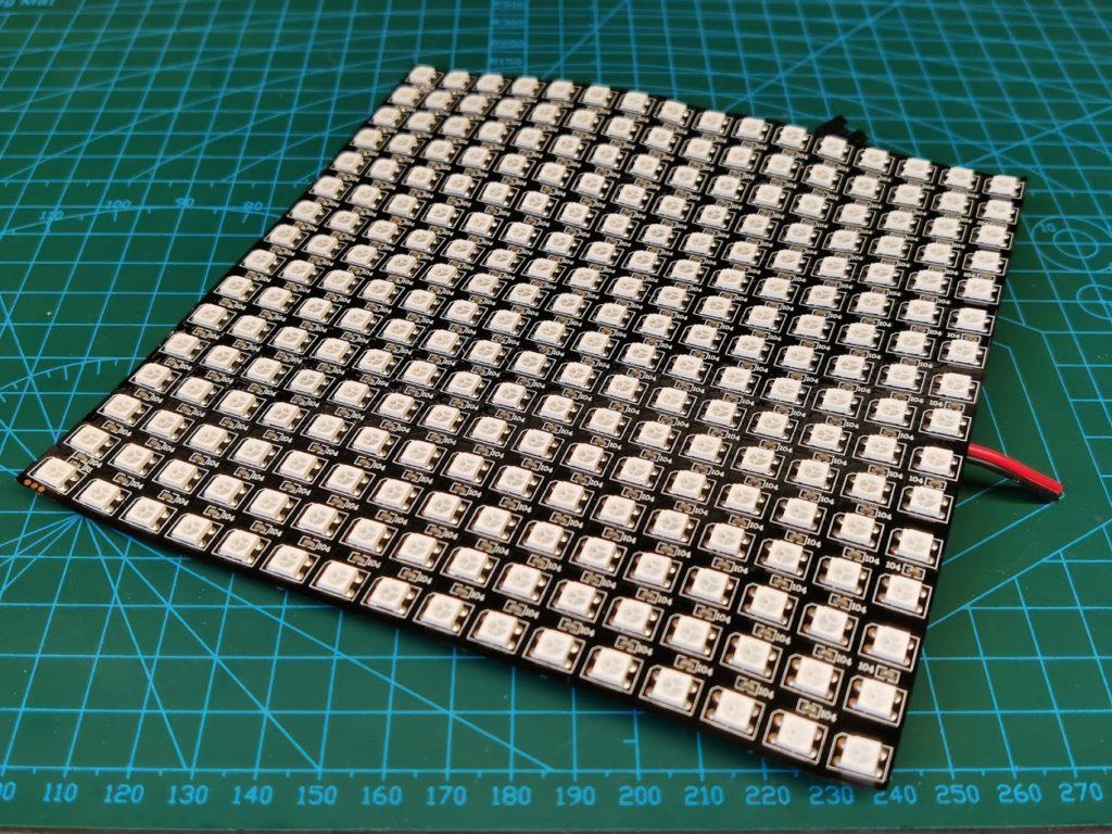 Адресная светодиодная матрица